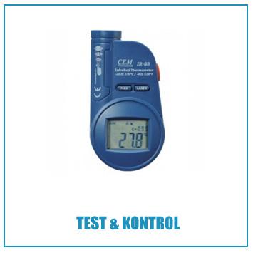 test kontrol